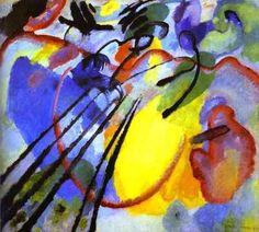Improvisation n°26,  par Wassily Kandinsky