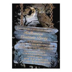 Steampunk Zirkus Halloween Party Einladung 12,7 X 17,8 Cm Einladungskarte