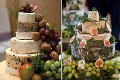 Wedding cheese cakes by Let Her Bake Cake, via Flickr