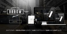 Arrow - One Page Parallax @ #themeforest http://themeforest.net/item/arrow-one-page-parallax/8429716?ref=artbreeze