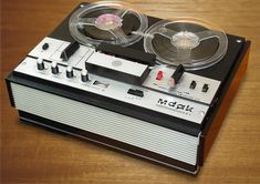 Reel to Reel tape recorders - my best friend in Jr High had one. She used to tape Beatle records with it, and we'd dance to them. Radios, Back In The Ussr, Tape Recorder, My Childhood Memories, Audiophile, Ol Days, Vintage Japanese, My Best Friend, Retro Vintage