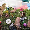 Un mini jardin / small world / little garden