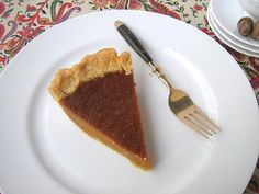 une gamine dans la cuisine: Tuesdays with Dorie: Caramel Pumpkin Pie  The recipe is in there but you have to link to another website.