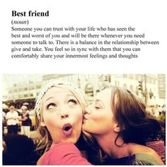 best friends like Serena and Blair