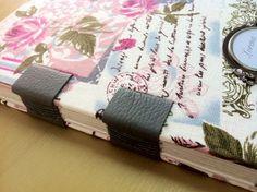 Caderno com linho personalizado. #bookbinding #craft