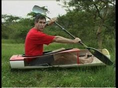 Kayak stroke technique: Hip rotation by Greg Barton Kayak Camping, Canoe And Kayak, Kayak Fishing, Kayaking Near Me, Kayaking Tips, Canoeing, Kayak Outriggers, Kayak Cart, Classic Wooden Boats