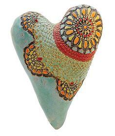 """Nancy Fancy""        Ceramic Wall Art                                                                      Created by                          Laurie Pollpeter Eskenazi"