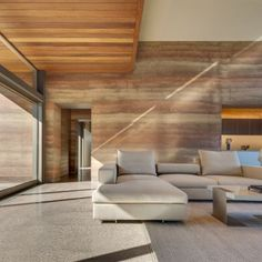 Torcasso Residence: Project: Rick Torcasso's Residence Architect: Larry Speck Location: Santa Fe, New Mexico Year: 2015As rammed earth makes a comeback for its low maintenance and energy efficiency, architects are beginning to explore its potential and beauty for luxury housing. The Torcasso Residence is one example of the elegant utilization of rammed earth construction. The house takes its inspiration from the surrounding Santa Fe landscape, using the building form to create and capture…
