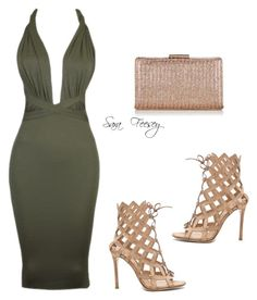 """Untitled #126"" by sara-elizabeth-feesey on Polyvore featuring Gianvito Rossi and Accessorize"