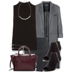 Derek Inspired Meeting Outfit with a Skirt