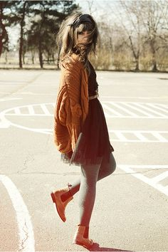 Bronze boots by La redoute - look by Maddinka