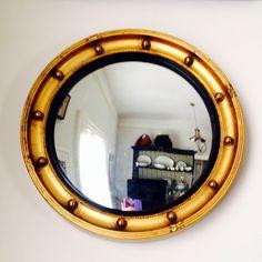 Convex Butlers Mirror 1930's