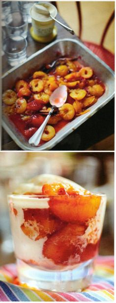 Jamie's 30 Minute Meals, 30 Min Meals, Stewed Fruit, Vanilla Paste, British Recipes, Jamie Oliver, Puddings, Baked Goods, Healthy Foods
