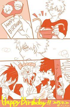 BNHA : Happy birthday!!!