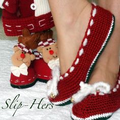 Descarga inmediata Crochet patrón Ballet zapatillas por Genevive