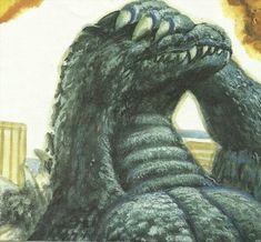 Godzilla - by raydog Godzilla Comics, Godzilla 2, King Kong, Original Godzilla, Monster Board, Godzilla Wallpaper, Legendary Pictures, Monster Concept Art, Digimon