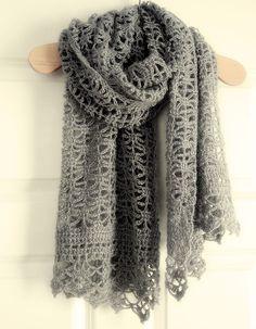 some day ~ crochet shawl