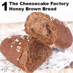 cheesecake factory bread recipe