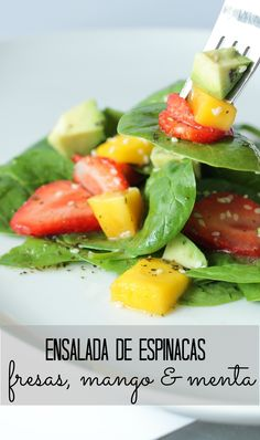 Cocina – Recetas y Consejos Veggie Recipes, Vegetarian Recipes, Healthy Recipes, Salade Healthy, Healthy Snacks, Healthy Eating, Salad Bar, Kitchen Recipes, Food And Drink