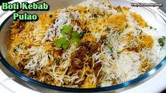 Boti Kebab Pulao Recipe | Unique Mutton Pulao Recipe | My Kitchen My Dish - YouTube Savoury Rice Recipe, Savory Rice, Rice Recipes, Dishes, Kitchen, Unique, Youtube, Food, Cooking