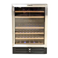 Size: 595 W x 560/600 D x 865 H Watts: 100 Holds: 46 Bottles Applications: Usage includes commercial / domestic pubs, wine cellars, restaurants, etc