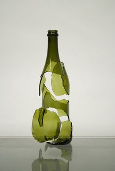 Broken objects by Daniele Bovolenta, via Behance.