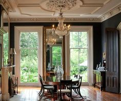 NATCHEZ landing - Reblogging this because I love this dining room -...