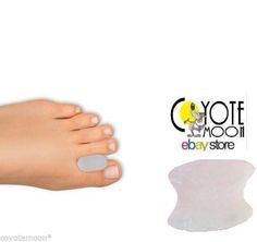 2 pack Gel Toe Seperator Spreader, Bunions, Corns, Blisters Washable UK