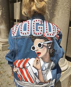 Handmade denim jacket by TATMAN