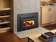 Small Flush wood Hybrid-Fyre insert - steel - by Fireplace Xtrordinair