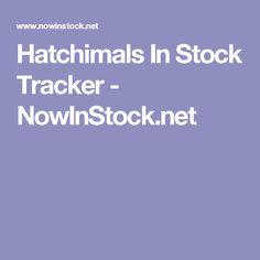 Nowinstock Hatchimals
