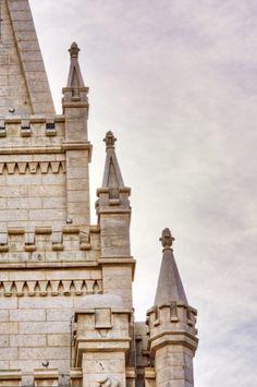 LDS Salt Lake Temple Tower Tiers Print by LittleVentures Salt Lake Temple, Temple Pictures, Lds Temples, Medieval Castle, Disney Films, Latter Day Saints, Loire, Have Time, Fairy Tales