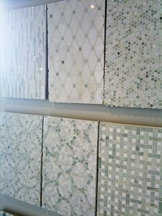 Beautiful marble tiles fromSaltillo (Canada) They are Sarah Richardson's go-to-place for tile.