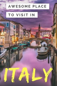 !0 Awesome Places to visit in Italy. We have made a list of the best places to visit in Italy.   #backpackingitaly #travelitaly