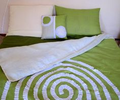Natural Linen Bedding set all sizes : Duvet Cover Sheet by FlaxECO