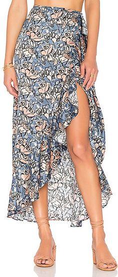 House of Harlow 1960 X REVOLVE Clementine Skirt in Blue fashion style for women entrepreneurs