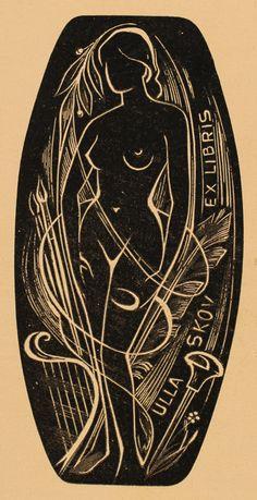 Art-exlibris.net - exlibris by Josef Weiser for Ulla Skov