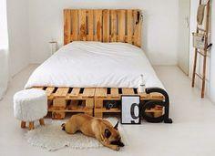 Houten Slaapkamer Meubels : Meubels van pallets creatief met hout moveria pallet