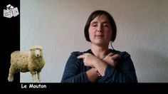 Vocabulaire LSF : Les animaux (Partie 2) Signs, Mona Lisa, Film, Youtube, Montessori, Learn Sign Language, Nursery Rhymes, Vocabulary, Learning