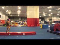 Skill Progressions #27: Front Handspring on Floor - YouTube