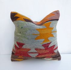 Chevron Kilim Pillow cover made with a vintage by SophiesBazaar, $48.00