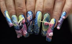 That is amazing and all but how do they do anything with their nails being that long!
