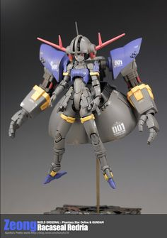 GUNDAM GUY: Zeong [Racaseal Redria] - Custom Build