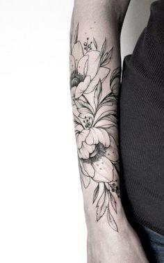 Нежные татуировки от мастера из Москвы Ольги Королевой