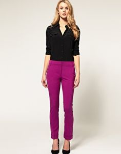 Enlarge ASOS Slim Pant With Jet Pocket