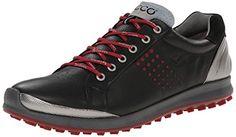 ECCO BIOM HYBRID 2 HERREN GOLFSCHUHE BLACK/BRICK Schuhgröße: 43 - http://on-line-kaufen.de/ecco/43-eu-ecco-mens-golf-biom-hybrid-2-herren-11