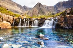 I want to go to them ALL!! -- Fairy Pools, Scotland | 18 Places You Won't Actually Believe Are In Britain