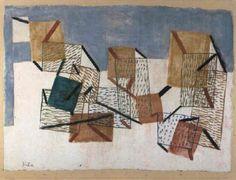 Paul Klee (Swiss, 1879–1940) Title: Kojen , 1930–1930 Medium: Tempera Size: 37.5 x 51.4 cm. (14.8 x 20.2 in.)