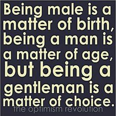 Male-Man-Gentleman