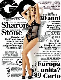 GQ Italy  Typography